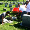 Vandals hit West Irvine Cemetery; steal vases from Sunset Memorial Gardens