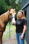 Cox isn't just 'horsin' around' when raising money for charity