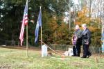 Union soldiers headstones dedicated