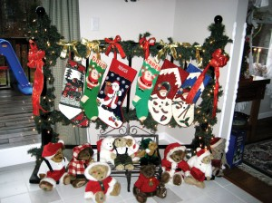 ...and the stockings were hung...with care