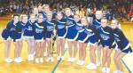 Cheerleaders take top honors in district