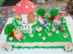 Mountain Mushroom Festival Cake Decorating Contest