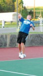 Estill Tennis teams compete at Oneida