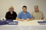 Williams and Clowers sign to play baseball