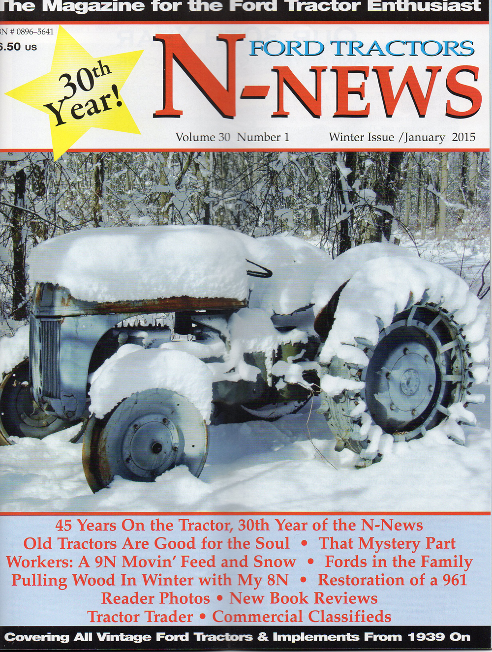 Pulling Wood In Winter With My 8n Wiring Harness For Ford Tractor Photo 49 N News Cover