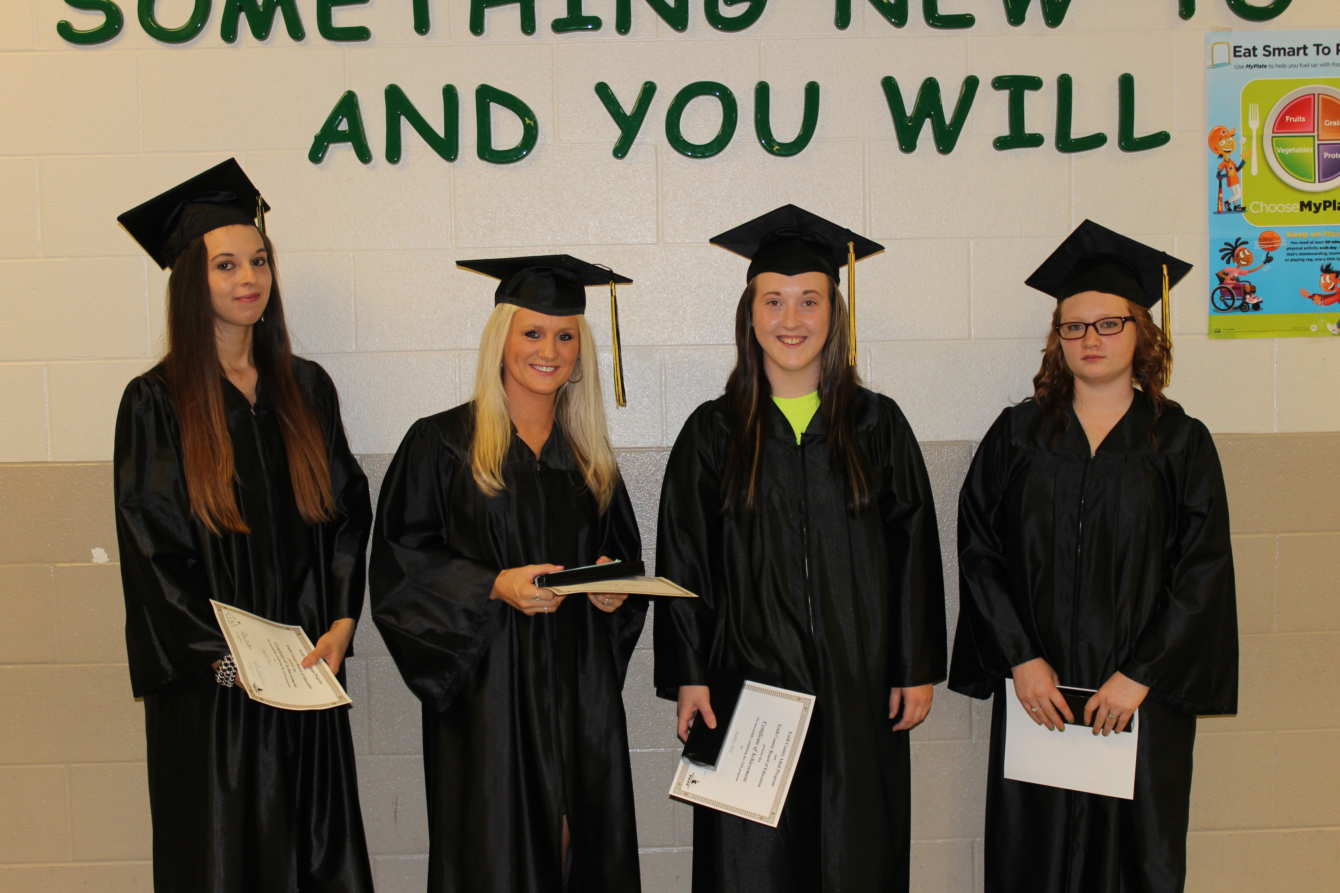 students honored in ged ceremony
