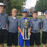 ECMS Golf team places first in regional play in the Middle School PGA Junior Tour