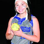 Winkle, a junior, breaks strikeout record