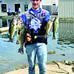 Canter flies solo in fishing tourney, places second